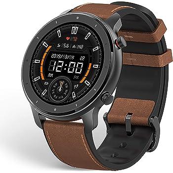 Amazfit Smartwatch GTR 47mm Orologio Intelligente Sportivo Fitness Tracker 1,39 Pollici Touch Control Impermeabile 5 ATM Cronometro con GPS, Contapassi, Tempo di Durata Fino a 24 Giorni per Sport