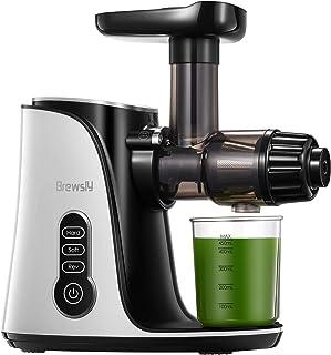 Extracteur de Jus, Extracteur à Jus de Fruits et Légumes, Slow Juicer Presse à Froid Machine, Convient à tous les fruits e...