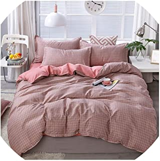 Home Textile Cartoon Happy Family Winter 3/4pcs Child Adult Bedding Set Luxury Comfortable Bedclothes Duvet Cover Bed Line,05,King Cover 220by240,(Flat Bed Sheet)
