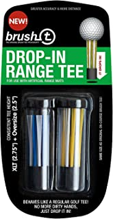 Brush T Drop in Range Tee for Artificial Golf Mats