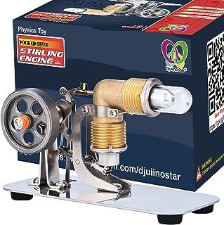 موتور DjuiinoStar Mini Hot Air استرلینگ موتور: یک مدل کارآمد با کارایی جیبی