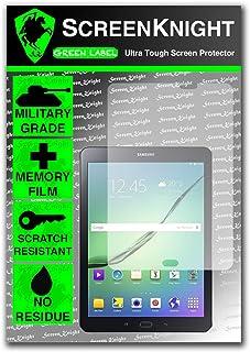 ScreenKnight® Samsung Galaxy Tab S2 8,0 tum främre skärmskydd osynlig sköld