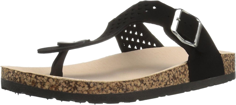 Qupid Womens Darwen-01 Slide Sandal
