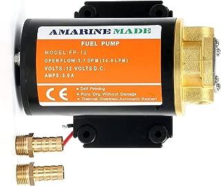 Amarine Made 12v Scavenge Impellor Gear Pump- For Diesel Fuel Scavenge Oil Transfer