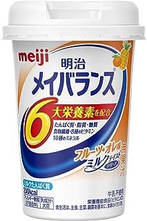 明治 メイバランス Miniカップ フルーツ・オレ味 125ml
