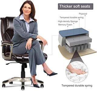memory foam executive office chair