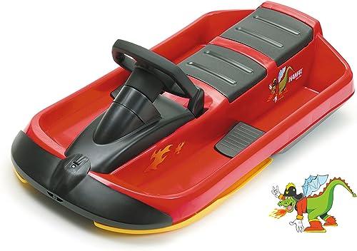 calidad auténtica Sno Fire rojo negro negro negro Schlitten, Doppelsitzer  Compra calidad 100% autentica