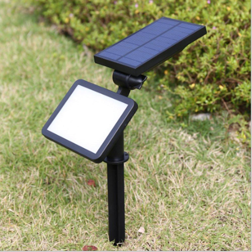 LED Solar proyector Foco Lámpara solar 48 LED luz de noche inalámbrica para Navidad, jardín, escalera Exterieur, corte, valla, Patio: Amazon.es: Coche y moto
