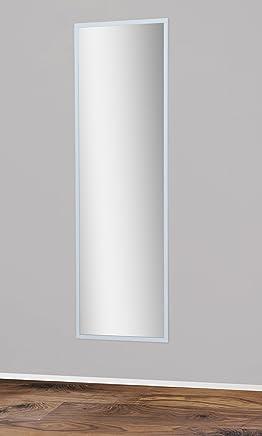 Spiegel 175x55cm Mit Ruckwand In Weiss