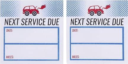 service sticker printing