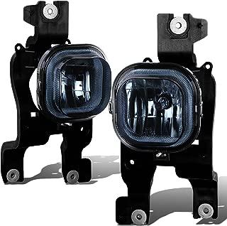 For Ford Super Duty Pair of Bumper Driving Fog Lights (Smoke Lens)