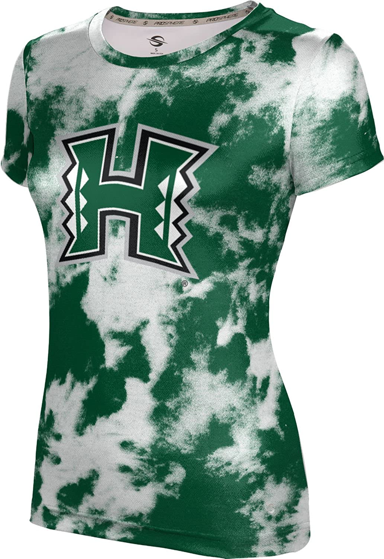 ProSphere University of Hawaii Girls' Performance T-Shirt (Grunge)