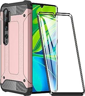 FANFO® Funda para Xiaomi Mi Note 10, protección contra Golpes de TPU + PC Resistente a arañazos (Doble Capa) Carcasa para ...