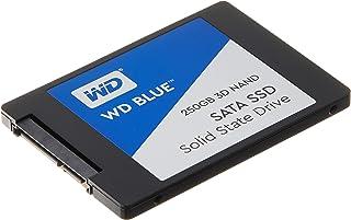 Western Digital WDS250G2B0A WD Blue 3D NAND Internal SSD 2.5 Inch SATA, 250 GB