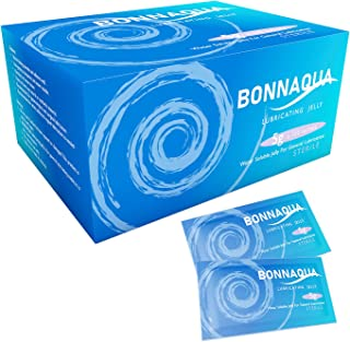 Pack of 150 Sterile Bonnaqua Water Based Lubricant/
