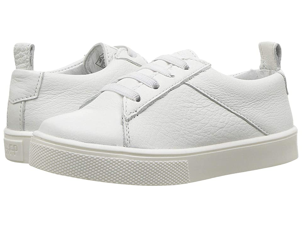Freshly Picked Classic Lace-Up Sneaker (Toddler/Little Kid) (White) Kid