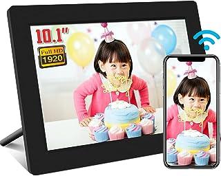wifi デジタルフレーム10.1インチ 1920*1200 タッチパネル 写真や動画再生 スライドショー IPS タッチパネル 広角視野SD/USBメモリーに対応無料アプリ プレゼント用 日本語説明書PSE認証済み