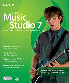 ACID Music Studio 7  [OLD VERSION]