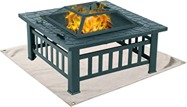 Amazon Co Uk Fire Pit Mat For Decking