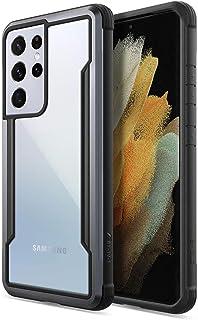 جراب واقي من X-DORIA لهاتف samsung Galaxy s21 Ultra 5G (2021) أسود