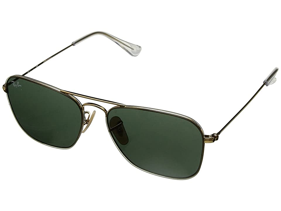 Ray-Ban RB3603 56mm (Gold/Green Classic) Fashion Sunglasses