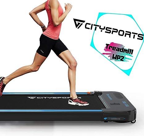 CITYSPORTS Treadmill 440W Motor, Electric Walking Machine Bluetooth Built-in Speakers...