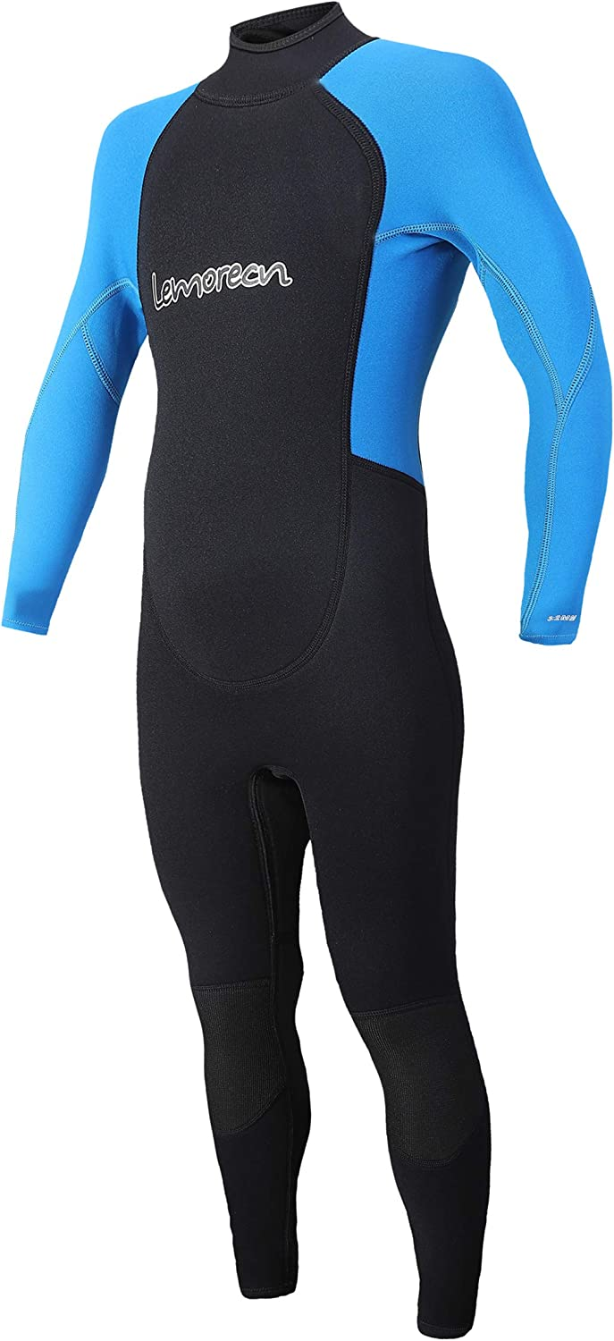 Lemorecn Kids Shorty Wetsuits A surprise price is realized Youth mm Suit Diving 3 Max 74% OFF Full