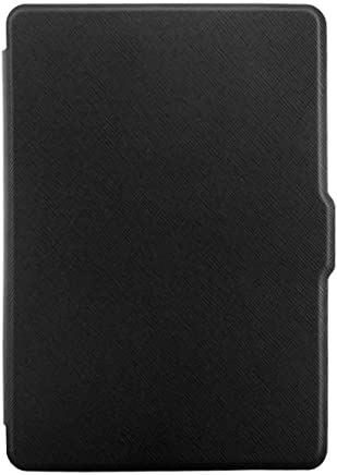 Winner Outfitters Kindle Voyage Case - Unique Art Skin,Lighted Slim Leather Cover with Smartshell Auto Wake/Sleep Function (Black)