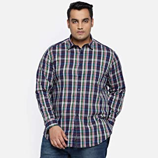 aLL Plus Size Men's Regular fit Casual Shirt