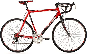 KS Cycling Piccadilly 260B - Bicicleta de carretera, color rojo, ruedas 28
