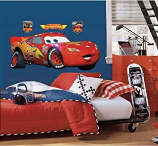 Best lightning mcqueen stickers for car bed Reviews