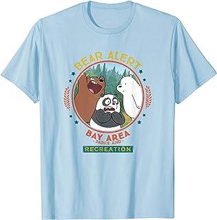 Cartoon Network We Bare Bears Bear Alert T-Shirt