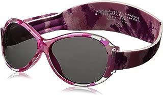 baby banz 婴幼儿防紫外线太阳镜蛤蟆镜系列 复古迷彩粉红色 0-2岁