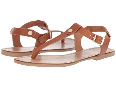 Massimo Matteo Thong with Buckle (Brown) Women