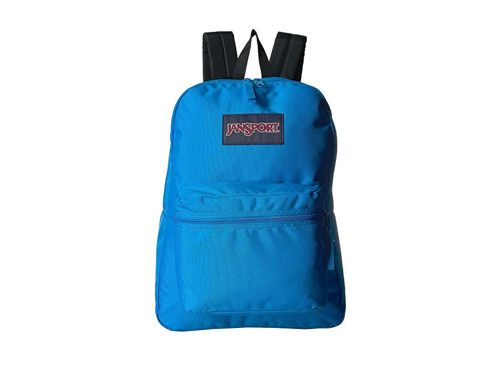 JanSport Exposed (Neon Blue) Backpack Bags