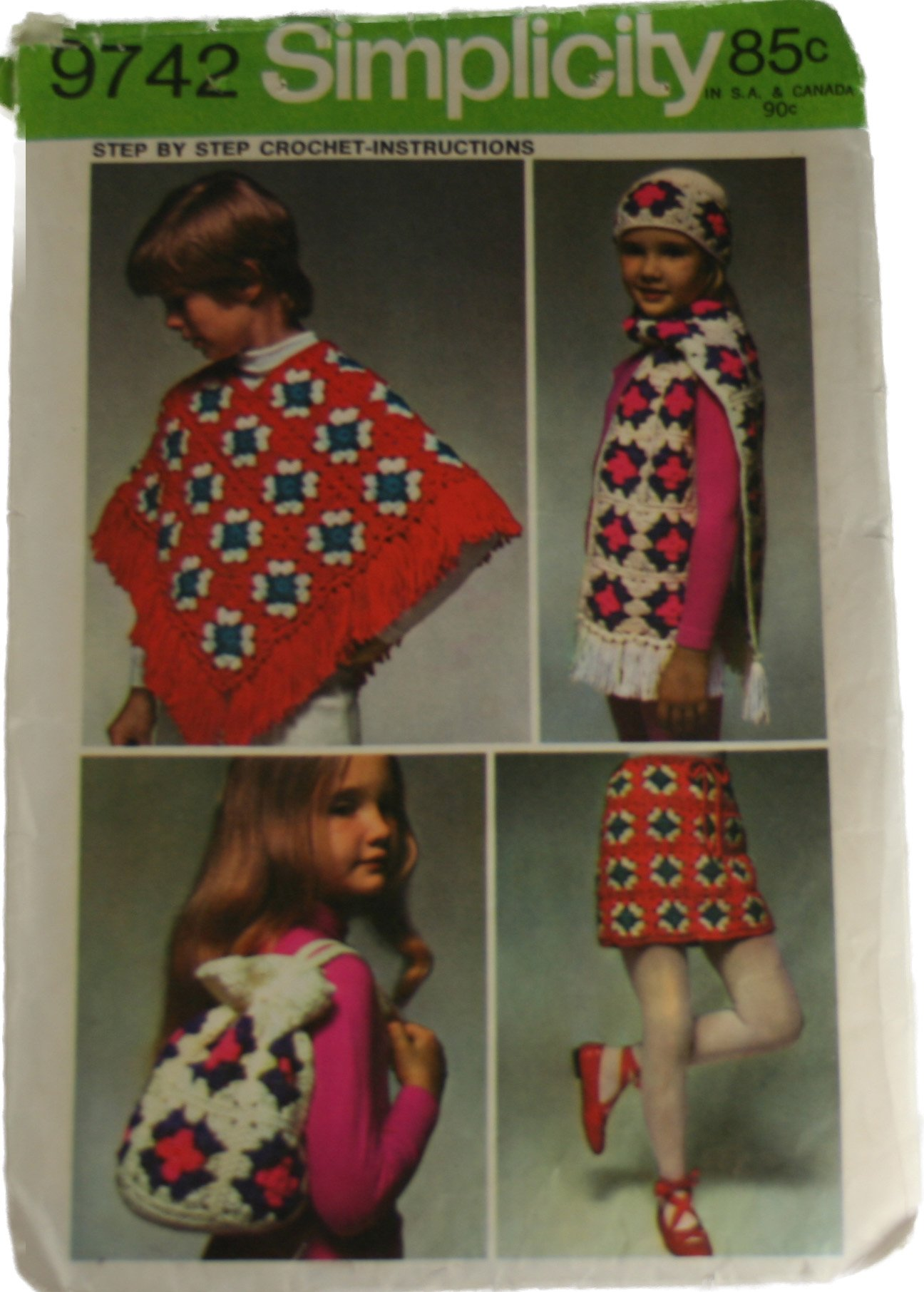 Girls Crochet Poncho Patterns – Patterns Gallery