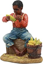 black boy statue
