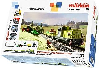 """Märklin modellbana Start up 29652 – startpaket """"jordbruksdrag"""". 230 volt. Spår H0 startset. Lok och vagn"""