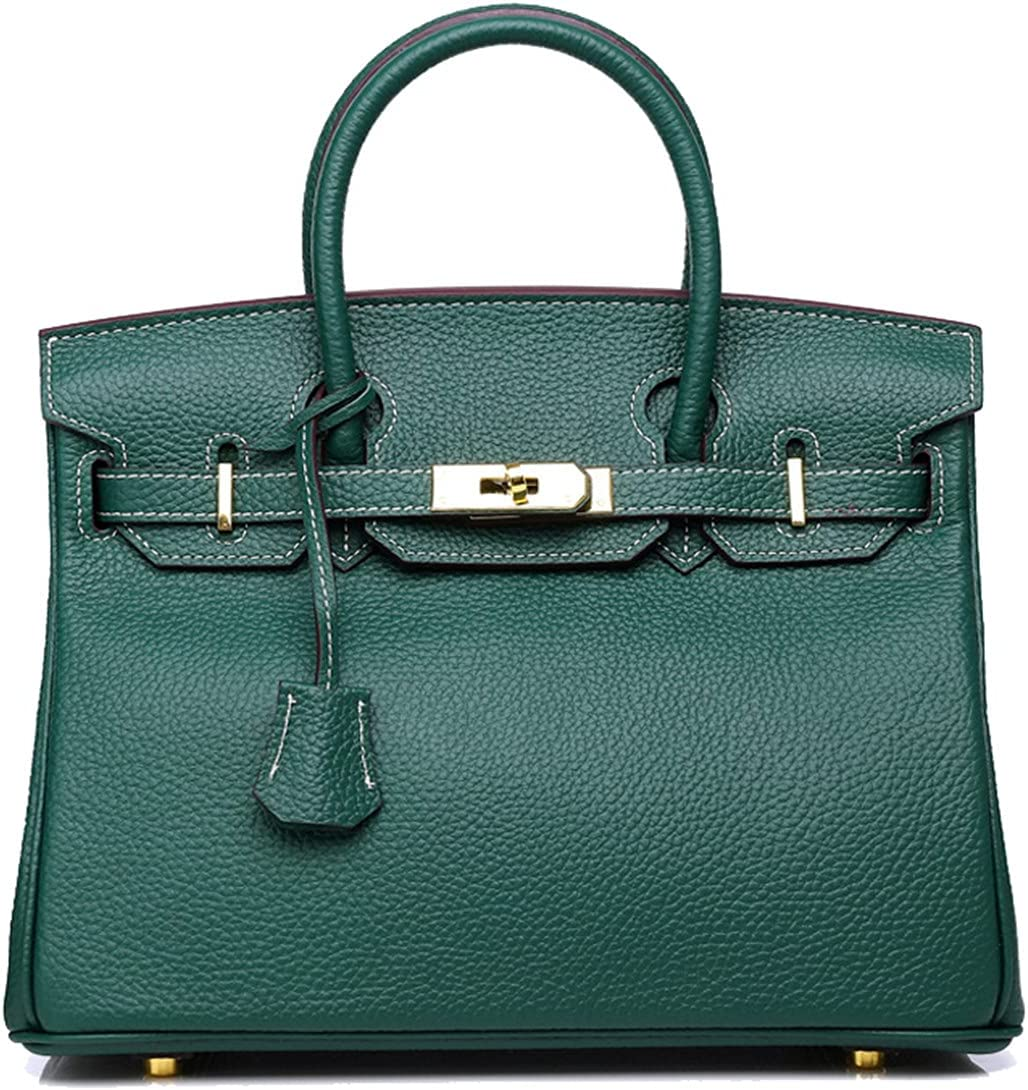 CLNYRO Handbag Dedication Shoulder Bag Genuine Capacity Leather Tote Cr Louisville-Jefferson County Mall Big