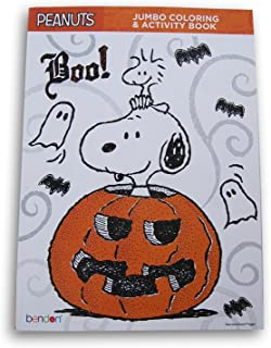 Bendon Publishing International Halloween Peanuts Snoopy Boo Coloring and Activity Book - 64 Pages