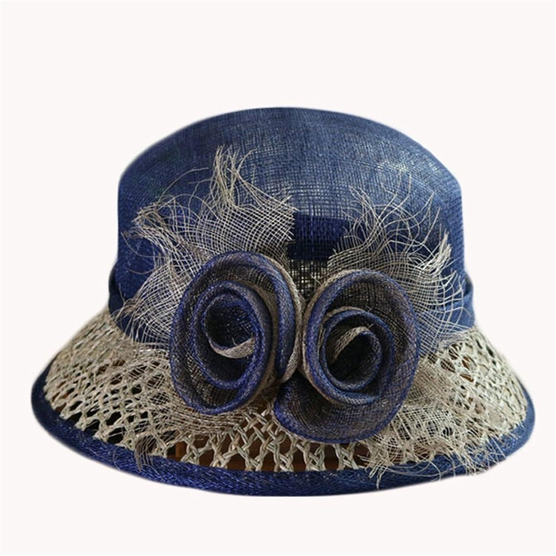 Women's Hat Straw Hat with Bracken Flower Sun Hat Lady Hat Travel Hat,