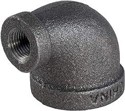 Everflow Supplies BMRL1003 2,5 cm x 9,5 cm zmniejszające kolano z żeliwa ciągliwego do wysokiego ciśnienia z żeńskimi okuc...