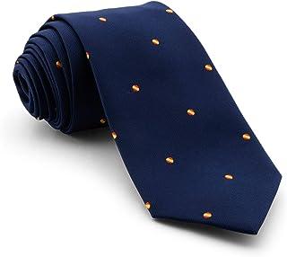 Corbata DE ALTA CALIDAD Azul Gris y Rojo Cuadrados Hecho a Mano 100/% Seda Rosa COLLAR AND CUFFS LONDON