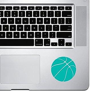 ملصق StickAny Palm Series Basketball بسيط لجهاز Macbook Pro وChromebook وأجهزة الكمبيوتر المحمولة (تركواز)