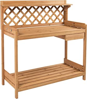 Best garden potting benches for sale Reviews