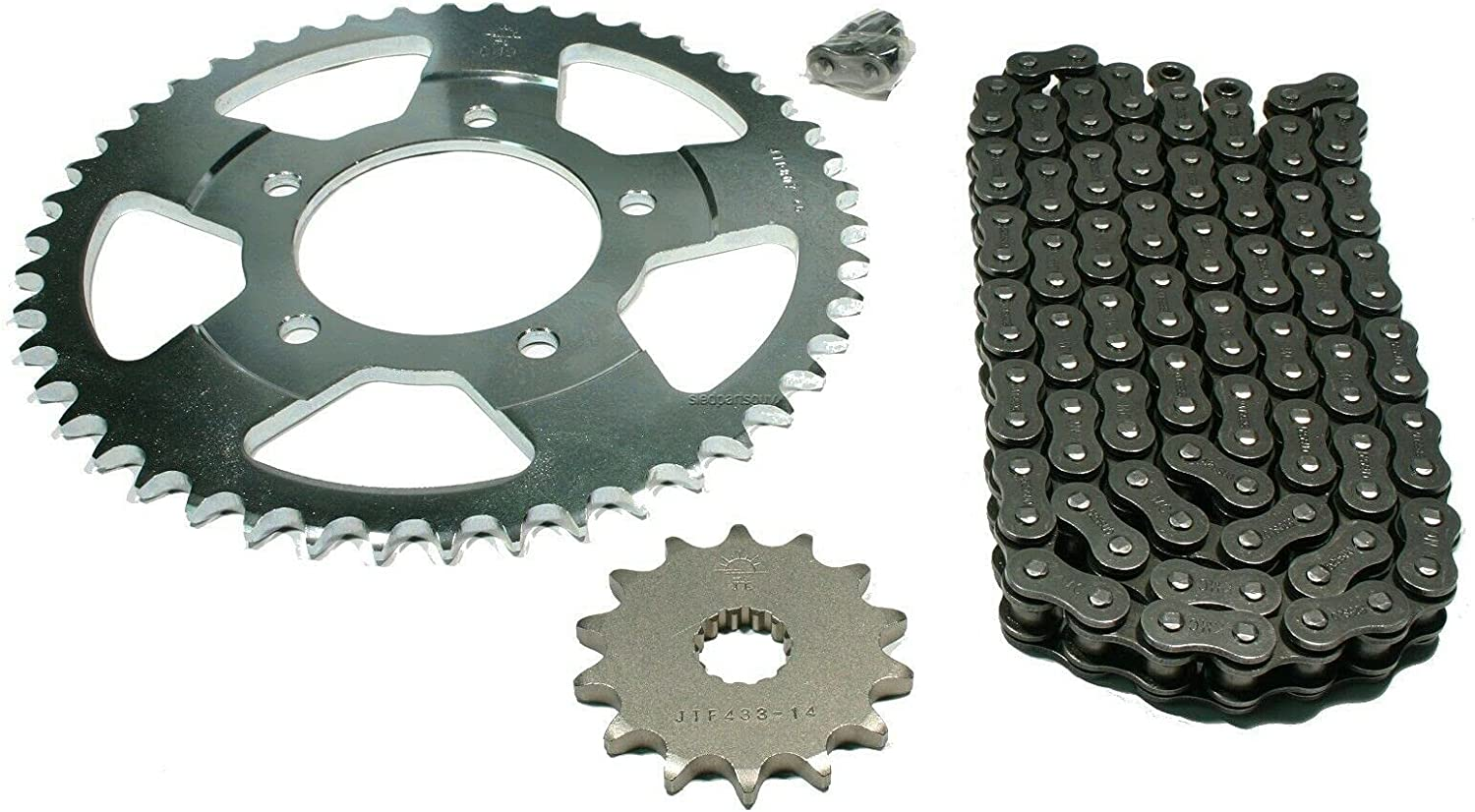 Chain 14 46 Tooth Sprocket Set fits - GSF400 Bit X 2021new Discount mail order shipping free 1993 400