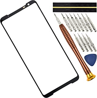 """ZS661KS Glass Screen Replacement for Asus ROG Phone 3 ZS661KS,Outer Glass Screen Black 6.59"""""""