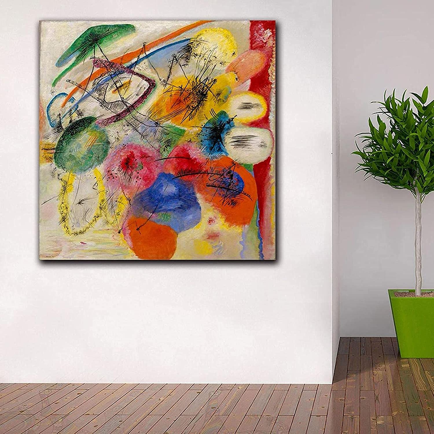 Canvas Art service favorite Painting Fashion Black Pictur Wall Lines
