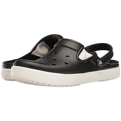 Crocs CitiLane Clog (Black/White) Clog Shoes