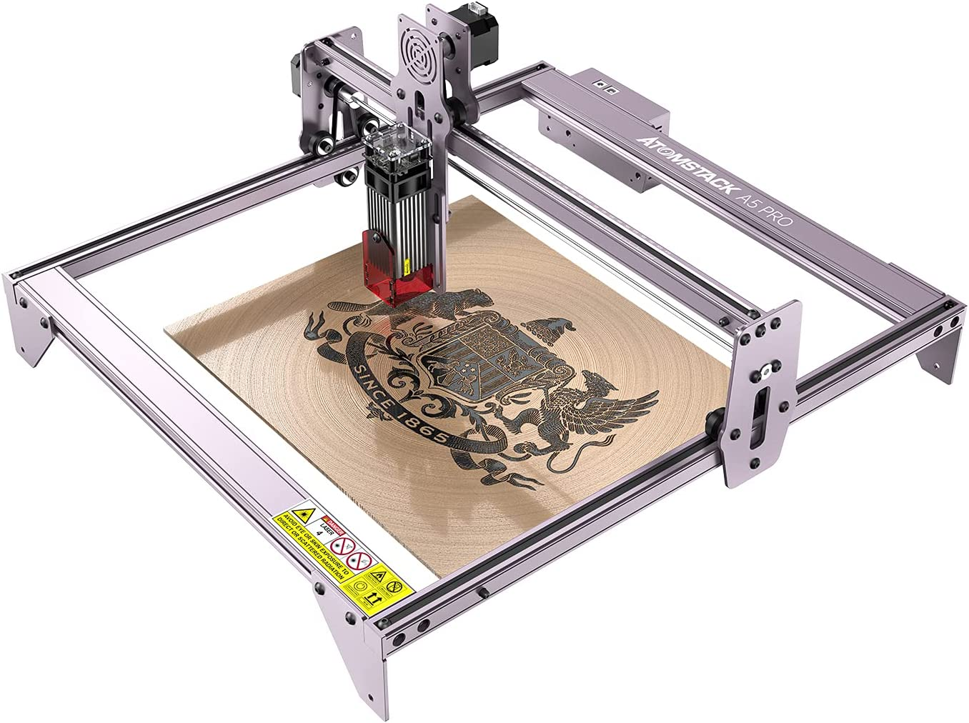 Laser Engraver ATOMSTACK A5 Pro Cheap mail order sales 2021 spring and summer new Master 40W Eye Protectio